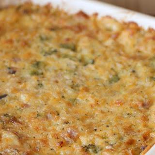Parmesan Chicken & Rice Casserole