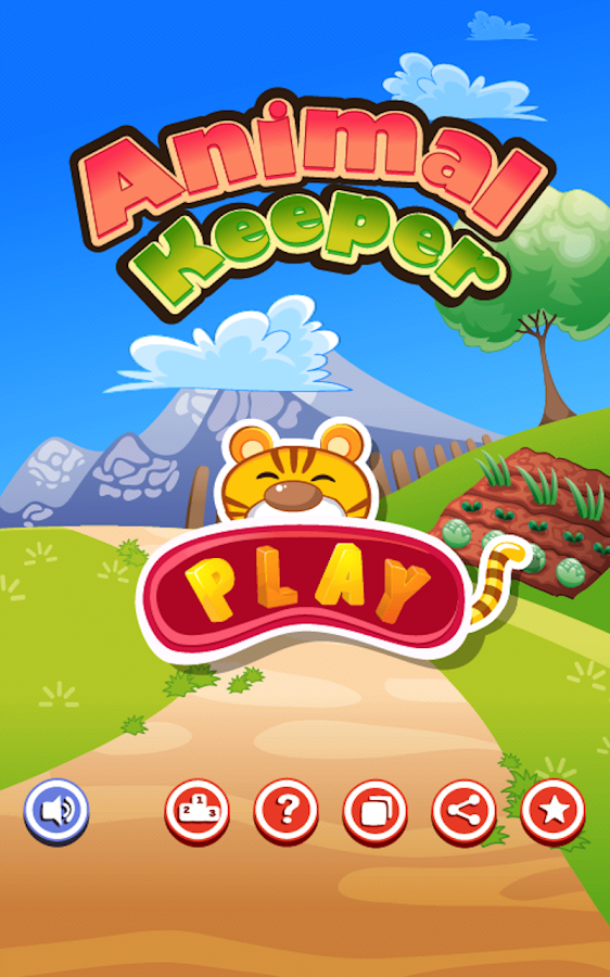 Animal Keeper Kids Game- screenshot