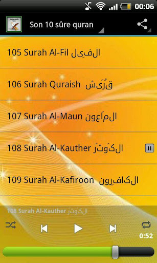 Son 10 sûre quran tercüme