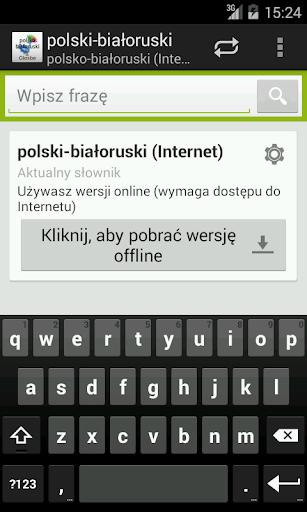 Polsko-Białoruski słownik
