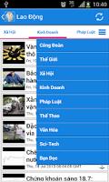 Screenshot of Viet News