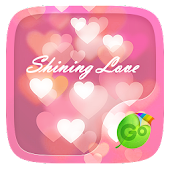 Shining Love Keyboard Theme