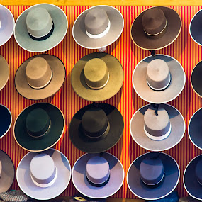 Hats Galore by Franco Beccari - Artistic Objects Clothing & Accessories ( hats, fashion, style, clothes, color, spain, colours )
