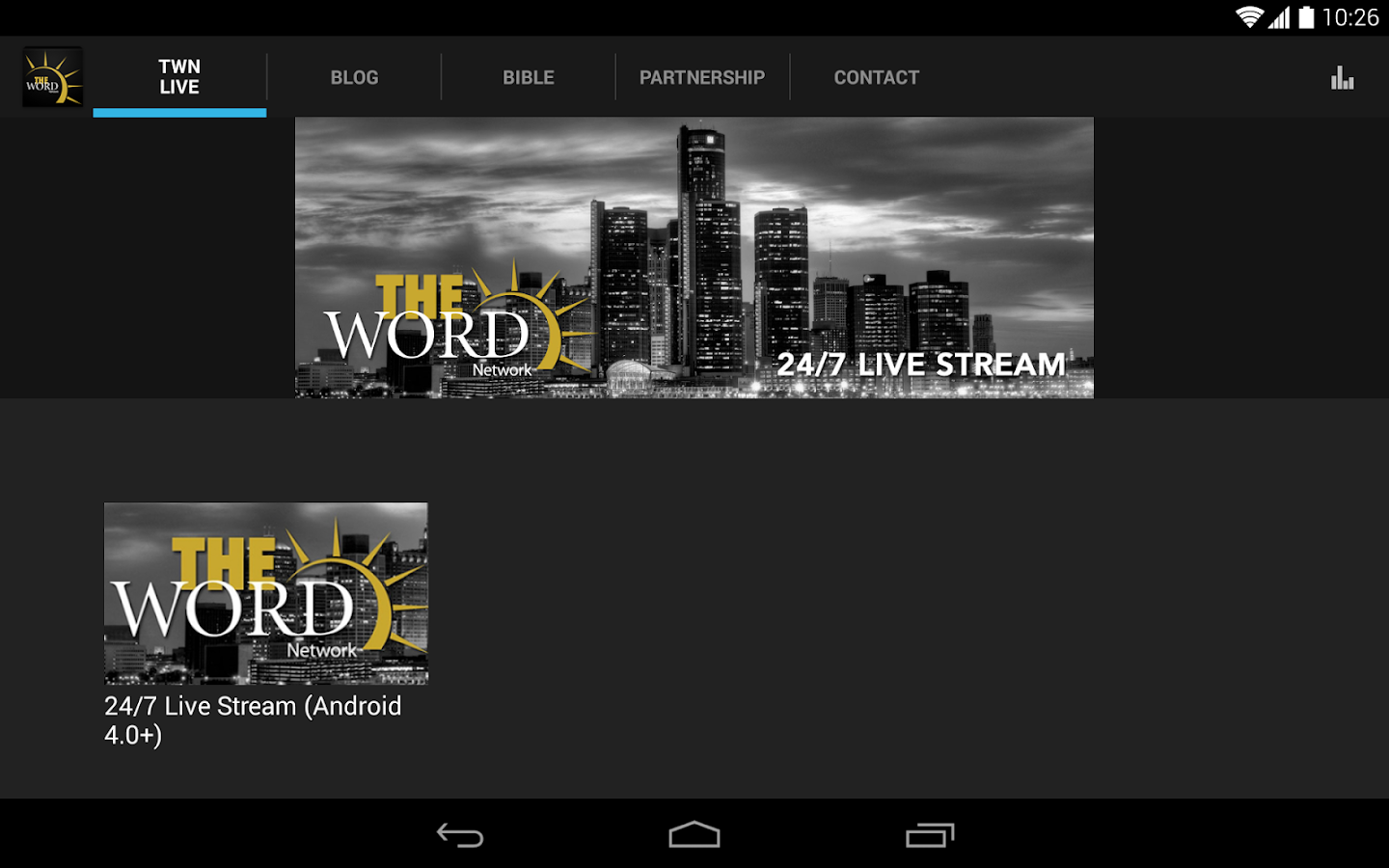 The Word Network - screenshot