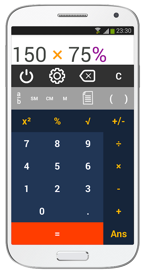 King Calculator- screenshot