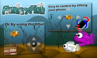 Screenshot of Hungry Fish