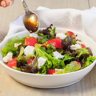 Strawberry Goat Cheese Salad.