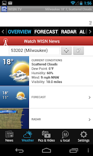 WISN - Milwaukee News, Weather - screenshot thumbnail