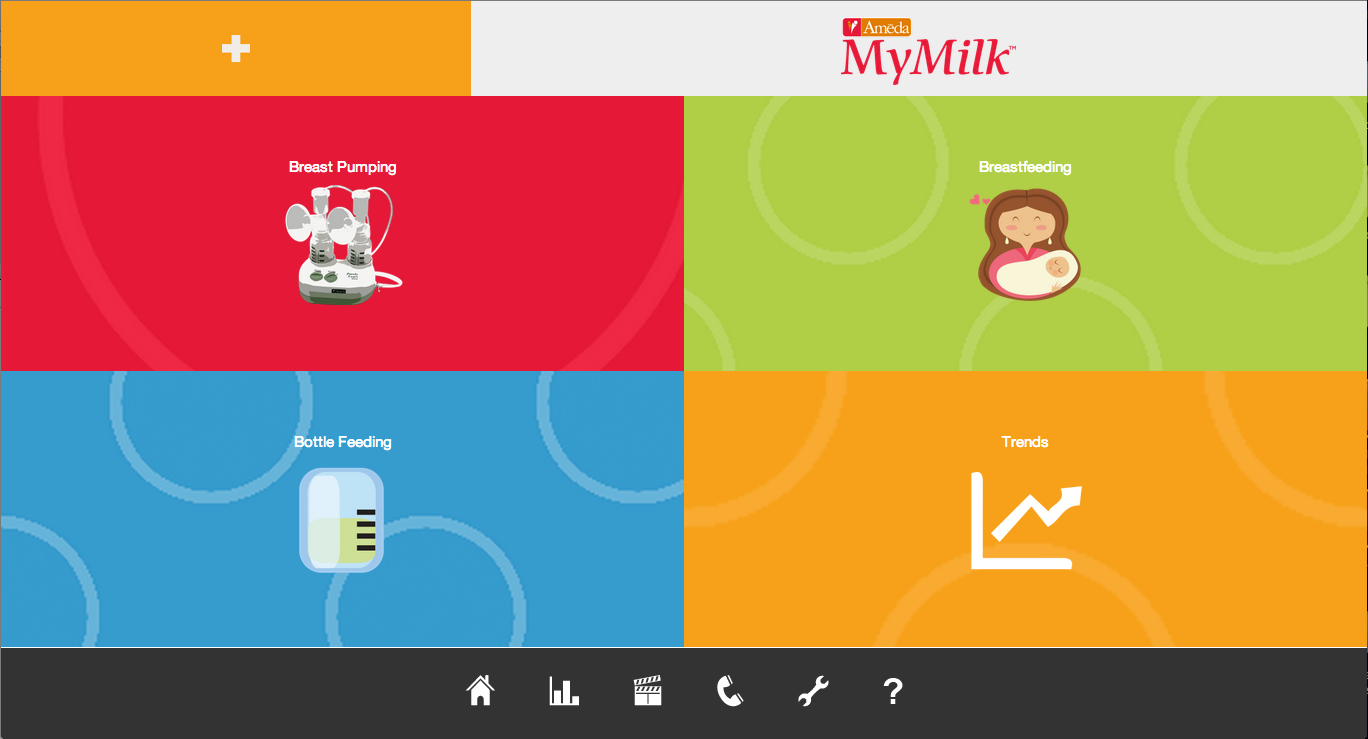 MyMilk - screenshot