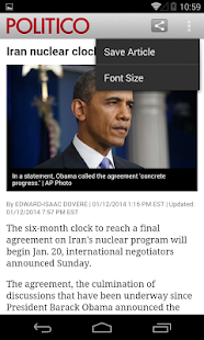 POLITICO - screenshot thumbnail