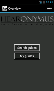 Hearonymus - your audioguide - screenshot thumbnail