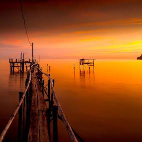 by Jerry ME Tanigue - Landscapes Sunsets & Sunrises ( #GARYFONGDRAMATICLIGHT, #WTFBOBDAVIS )