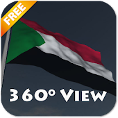 Real Sudan Flag Live Wallpaper