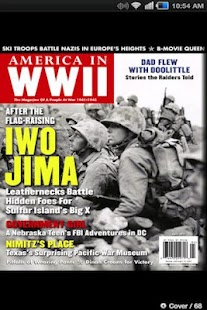 AMERICA IN WWII magazine- screenshot thumbnail