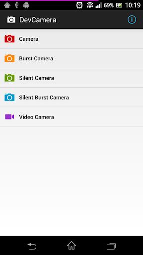 DevCamera [Burst Silent Video]