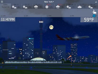 Precise Weather YoWindow Screenshot 13