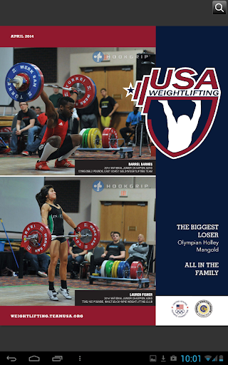 【免費運動App】USA Weightlifting-APP點子