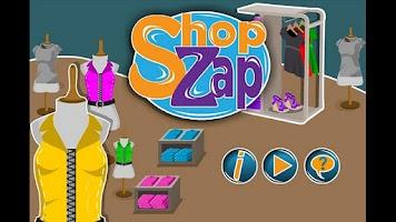 Screenshot of Shop Zap