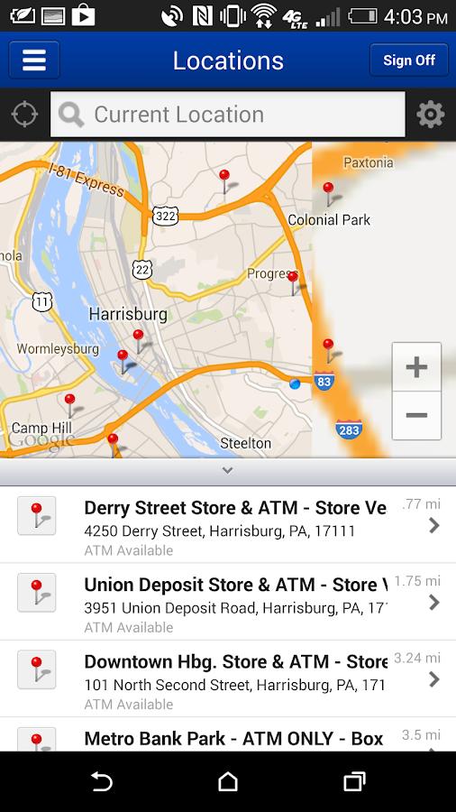 Metro Bank Mobile Smartphone - screenshot