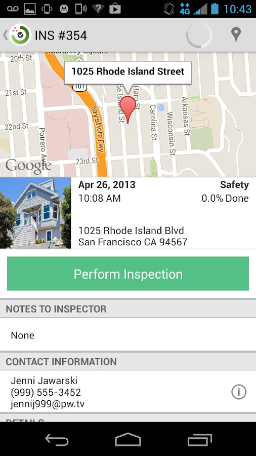 Inspections by Propertyware- screenshot