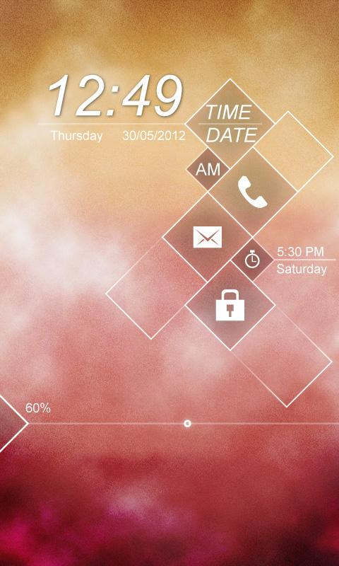 Mist GO Locker Theme - screenshot