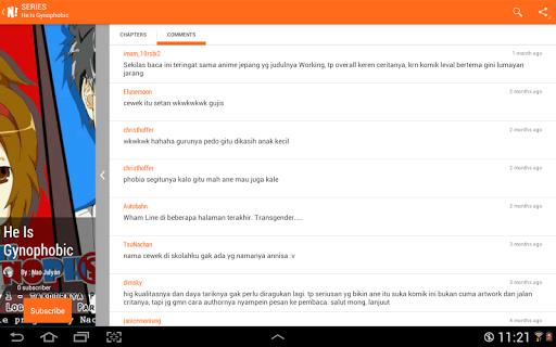 NGOMIK - Baca Komik Indonesia 1.2.5 screenshots 13