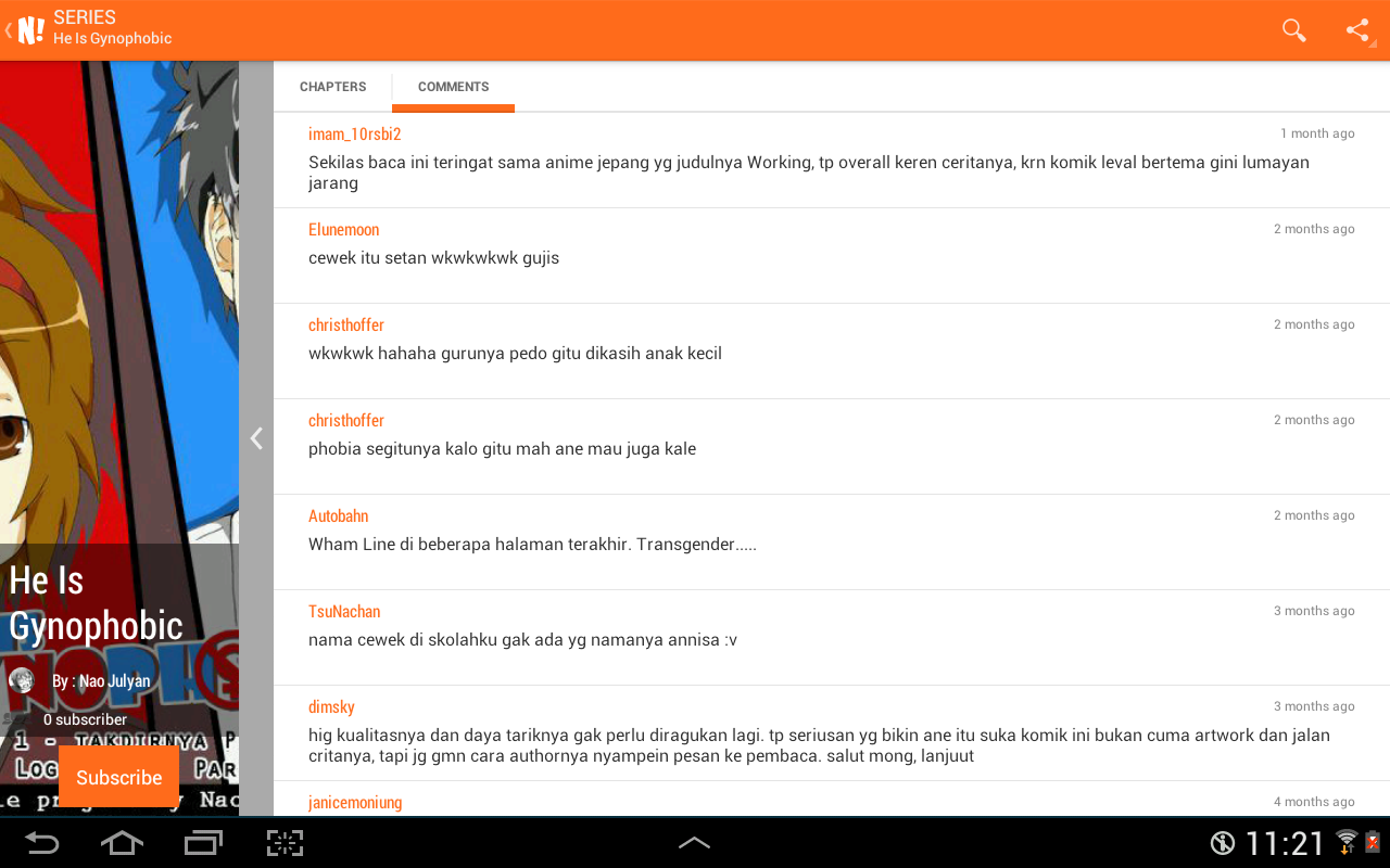 NGOMIK Baca Komik Indonesia Android Apps On Google Play