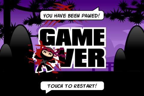 Mad Cats vs Ninja- screenshot
