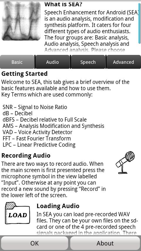 Speech Enhancement for Android - screenshot