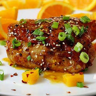 Paleo Asian Orange Chicken.