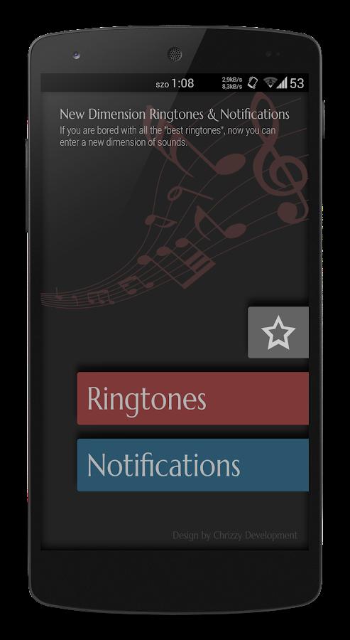 new dimension unique ringtones