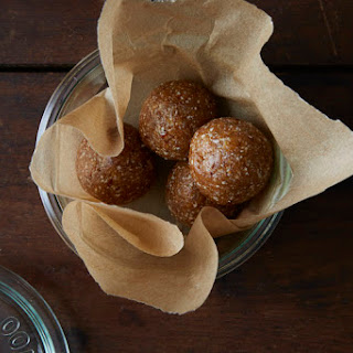 Apricot, Date, and Cashew Snack Balls.