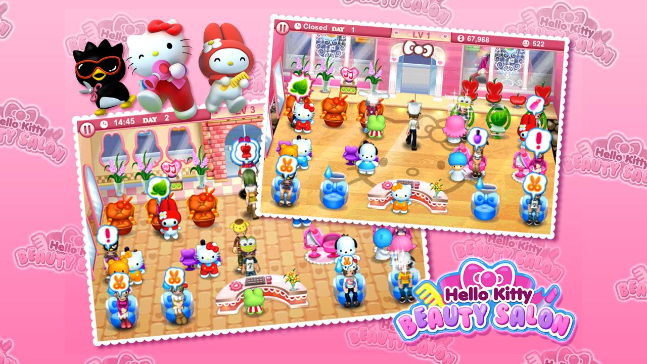 Hello Kitty Beauty Salon- screenshot
