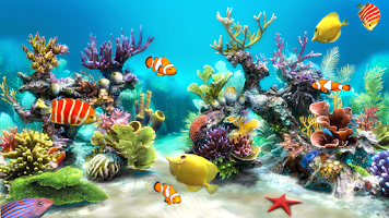 Screenshot of Sim Aquarium
