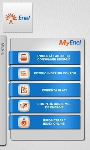 Screenshots for MyEnel