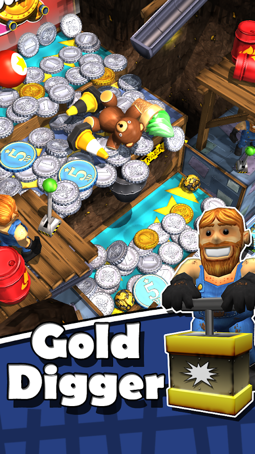 Goldrush Coin Falls- screenshot