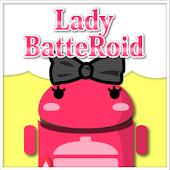LadyBatteRoidRibbonNomalGray