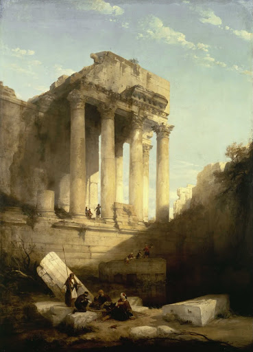 Baalbec - Ruins of the Temple of Bacchus