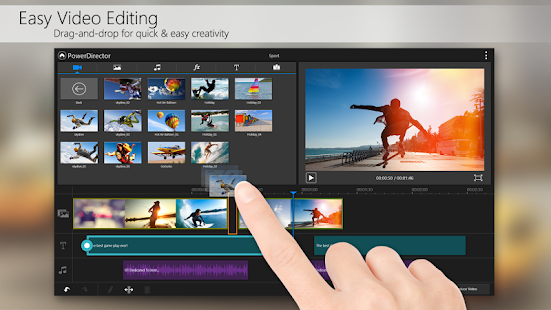 PowerDirector – Video Editor - screenshot thumbnail