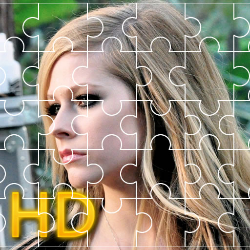Avril Lavigne Jigsaw HD