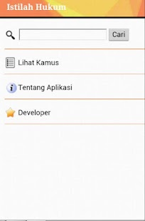 Kamus Hukum - screenshot thumbnail