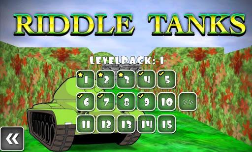 Riddle Tanks