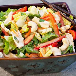 Chinese Chicken Salad with Sesame Ginger Vinaigrette.