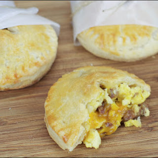 Egg And Sausage Hand Pies