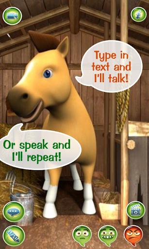 Talky Pete Talking Pony Free