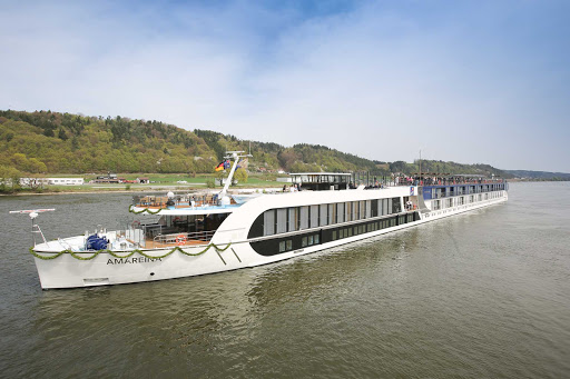 The 164-passenger AmaReina debuted in 2014 and makes sailings on the Rhine, visiting France, Germany, the Netherlands and Switzerland.