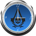 Assassins Creed 4 Clock Widget icon