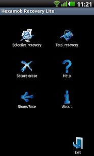 Hexamob Recovery PRO - screenshot thumbnail
