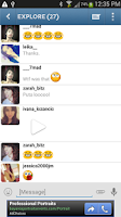 Screenshot of Instachat