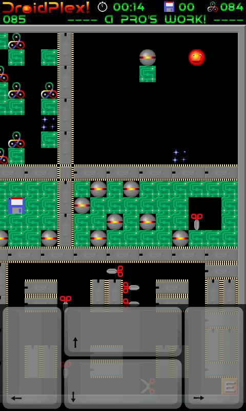 DroidPlex! Lite (Supaplex)- screenshot